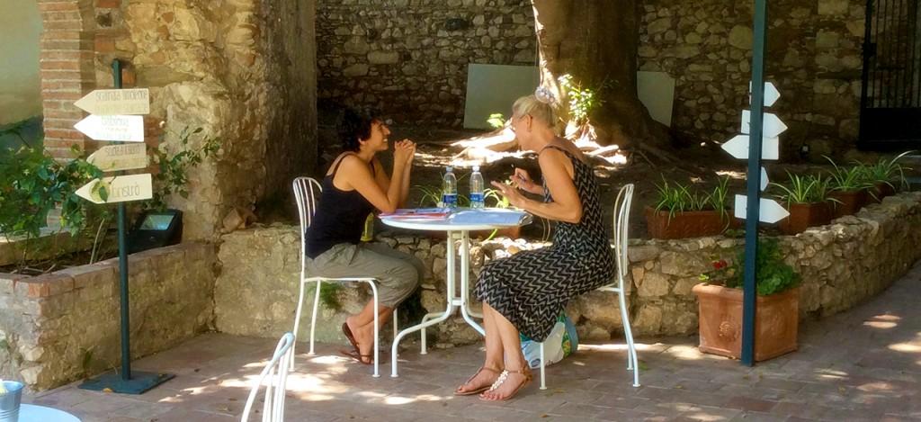 Индивидуальные курсы итальянского языка в Италии