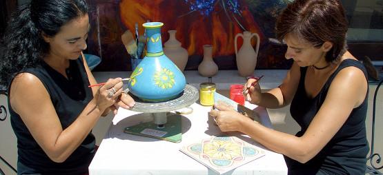 Уроки итальянского плюс Декорирование керамики на Сицилии