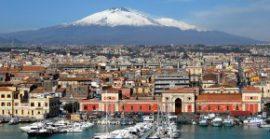 Катания, Сицилия – город рядом с вулканом